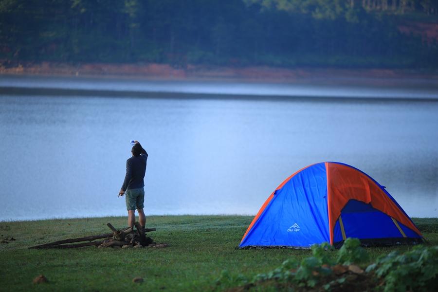 Kinh nghiệm cắm trại ở Đà Lạt – hồ Tuyền Lâm Đà Lạt