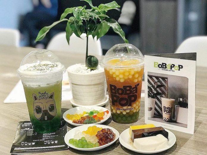 Trà sữa Taiwan Latte – Bobapop